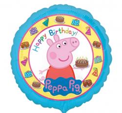 Balon foliowy na urodziny ze świnką Peppą