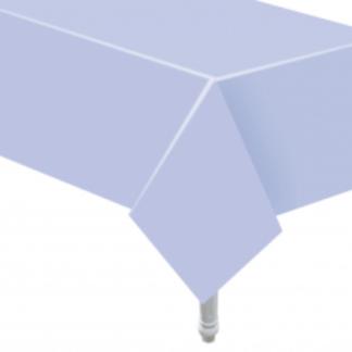 Liliowy obrus papierowy