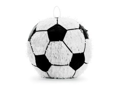 Piniata w kształcie piłki do futbolu