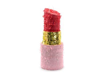 Piniata w kształcie szminki