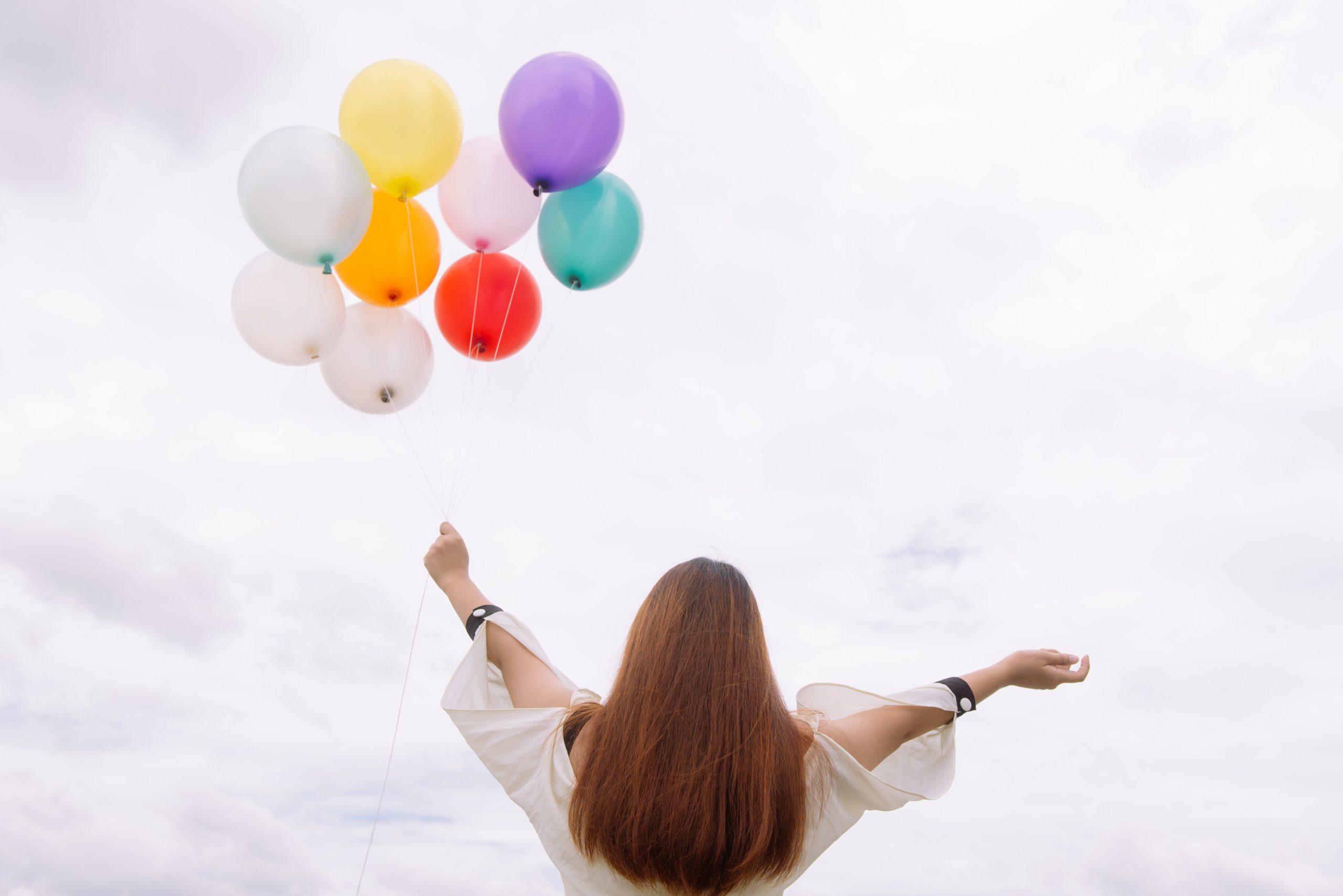 Dekoracje z balonów na urodziny