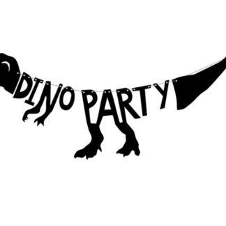 Baner z motywem dinozaurów
