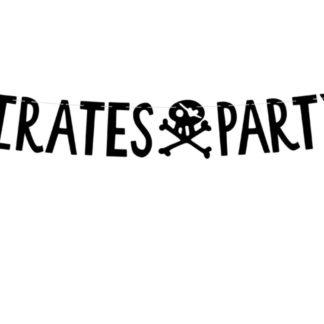 "Girlanda z napisem ""Pirates party"""