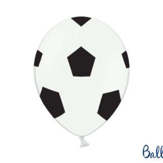 Balon lateksowy ze wzorem piłki nożnej