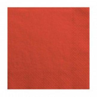Czerwona serwetka
