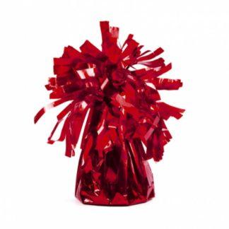 Czerwony ciężarek do balonów