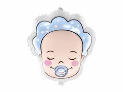 Balon foliowy w kształcie bobasa chłopca