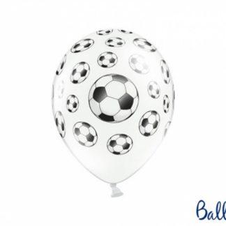 Balon lateksowy z rysunkiem piłki nożnej