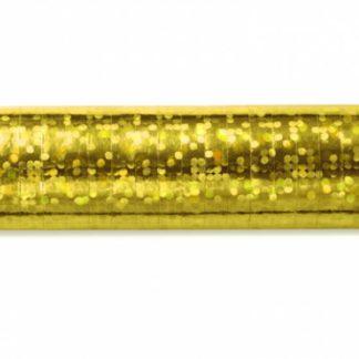 Złota serpentyna holograficzna