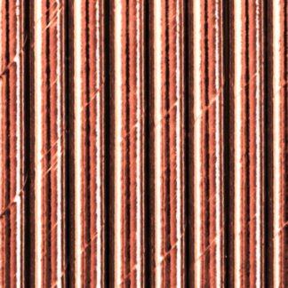 Słomki papierowe w kolorze różowego złota