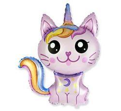 Balon foliowy w kształcie magicznego kotka