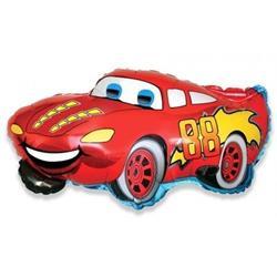 Balon foliowy w kształcie uśmiechniętego samochodu