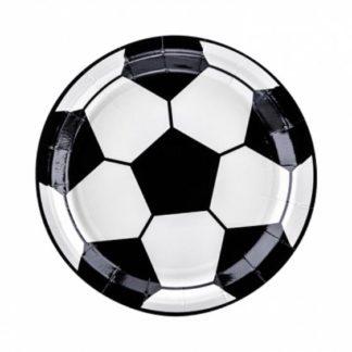 Talerzyk z rysunkiem piłki