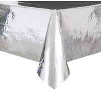 Srebrny obrus foliowy