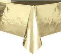 Złoty obrus foliowy