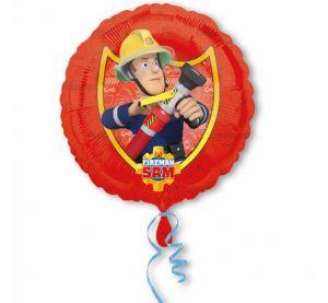 Balon foliowy ze strażakiem samem