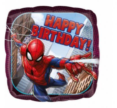 Balon foliowy na urodziny z motywem SpiderMana