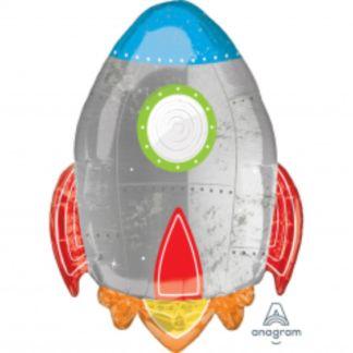 Balon foliowy w kształcie rakiety