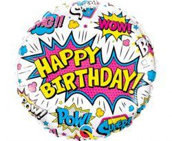 Balon foliowy na urodziny z motywem super bohaterów