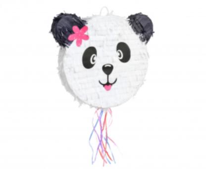 Piniata w kształcie głowy pandy