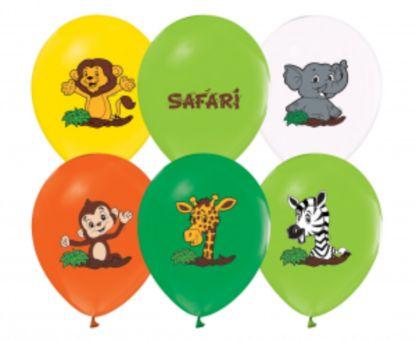 Zestaw balonów lateksowych ze zwierzątkami