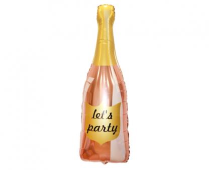 Balon foliowy w kształcie butelki szampana