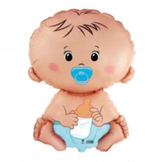 Balon foliowy w kształcie chłopca bobasa