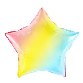 Balon foliowy w kształcie foliowej gwiazdki