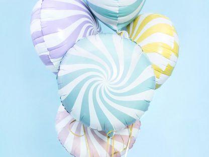 Bukiet balonów foliowych przypominające lizaki