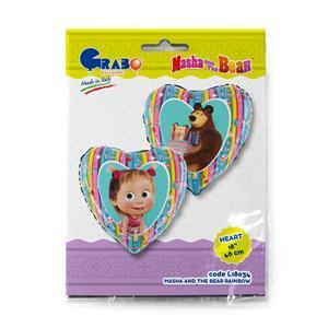 Balon z motywem Mashy i niedźwiedzia