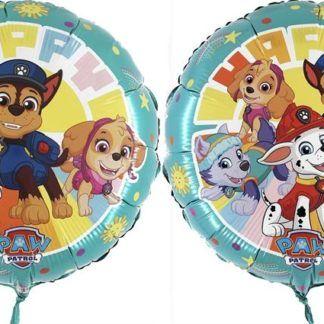 Balony foliowe z motywem Psiego Patrolu