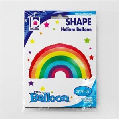 Balon foliowy w kształcie tęczy