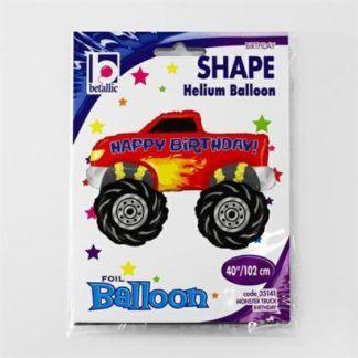 Balon foliowy w kształcie samochodu Monster Truck