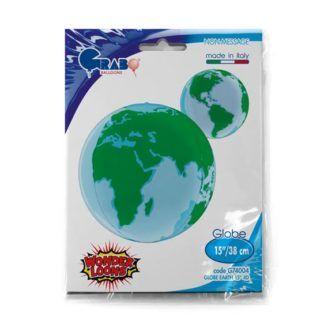 Balon foliowy w kształcie planety Ziemia