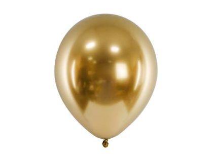 Złoty balon lateksowy