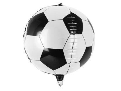 Balon foliowy w kształcie piłki do gry w piłkę nożną