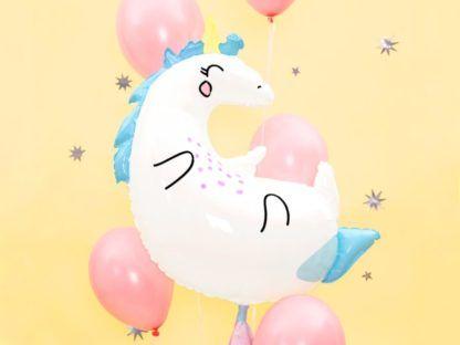 Balon foliowy w kształcie jednorożca