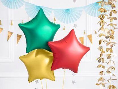 Balony foliowe w kształcie gwiazdek