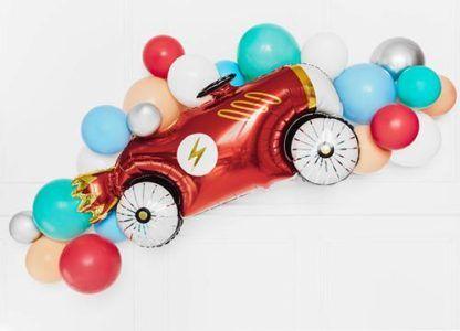 Balon foliowy w kształcie samochodu