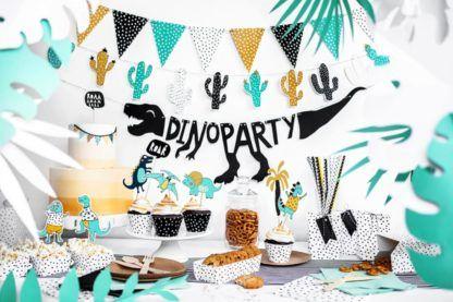Przyjęcie urodzinowe z motywem dinozaurów