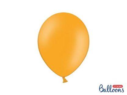 Pastelowy mandarynkowy balon lateksowy