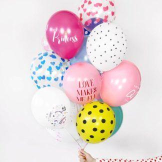 Balony lateksowe