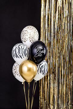 Zestaw balonów lateksowych z motywem wieczoru panieńskiego
