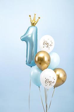 Zestaw balonów na pierwsze urodziny