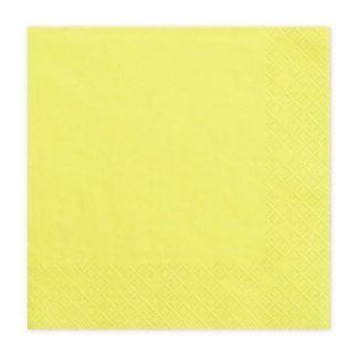 Żółta serwetka