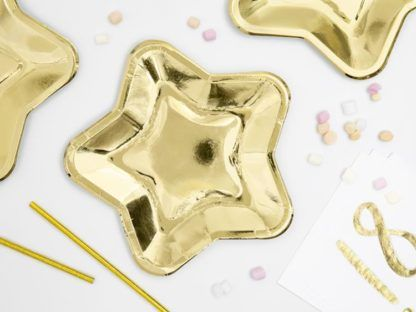 Talerzyki w kształcie gwiazdek