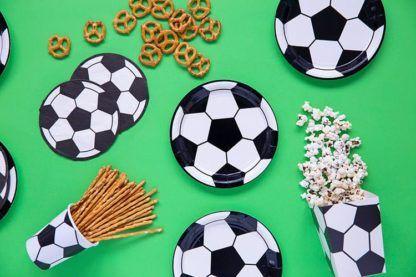 Talerzyki na fana piłki nożnej