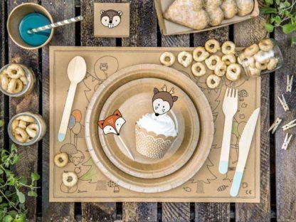 Śniadanie z muffinką w papilotce