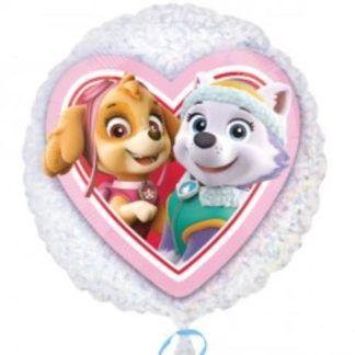 Balon foliowy z pieskami z psiego patrolu