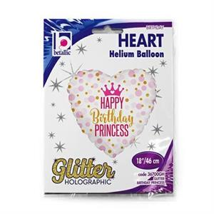 Balon foliowy dla urodzinowej księżniczki